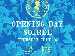 TWO days until our Opening Day Soirée.  Tickets: Bit.ly/SearsuckerSoiree
