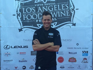 Chef @brianmalarkey ready to ROCK it at #LAFW2015!