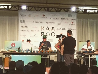 View from #KAABOO! #RockinChefCompetition  #ChefsRoll