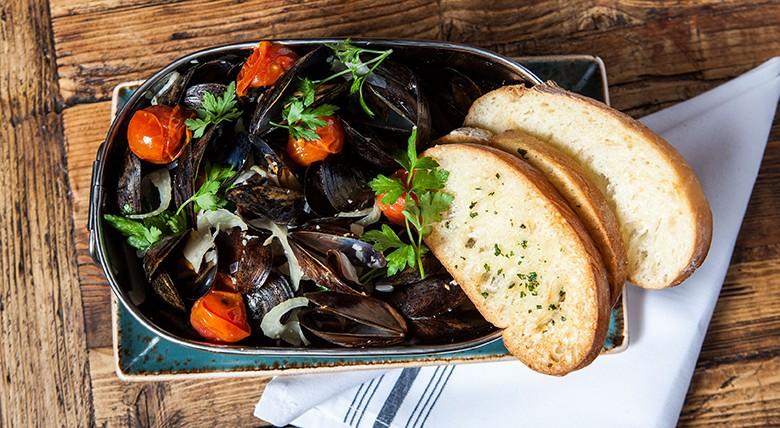 Searsucker Mussels