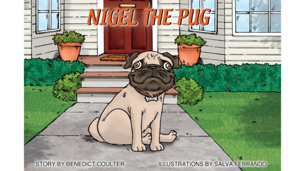 NIGEL THE PUG BOOK