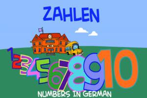 numbers_german