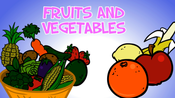 SOUNBOARD FRUITS AND VEGETABLES