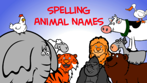 Spelling-Animal-Names