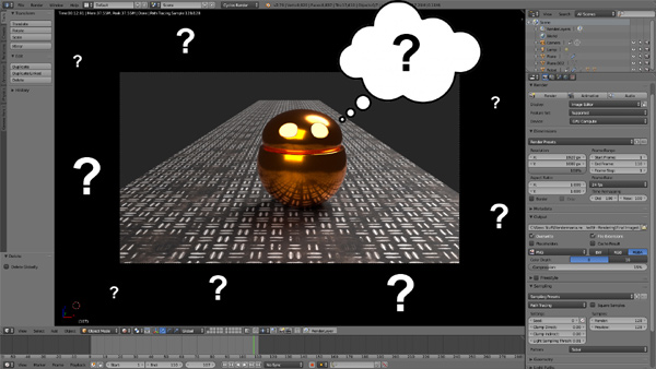 Getting Started in Blender Part 2 – Interface & Navigation