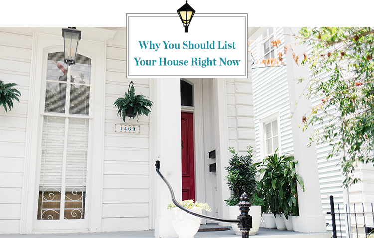 In light of the coronavirus affecting the markets, here is why you should list your house now.