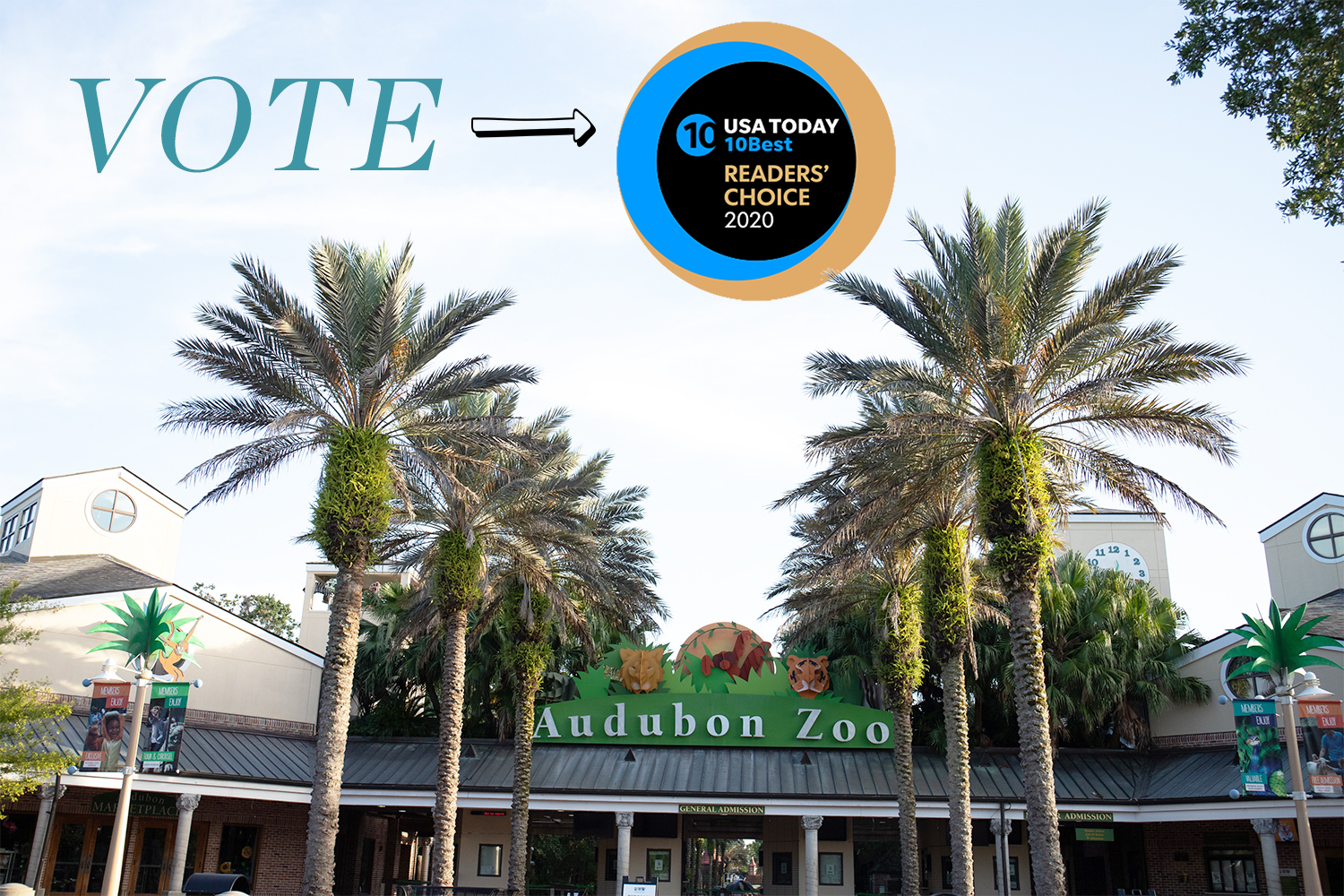 Vote Audubon Zoo