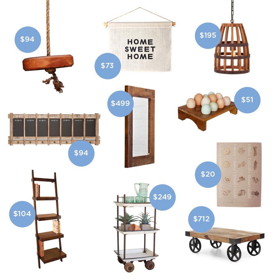 Farmhouse Home Goods
