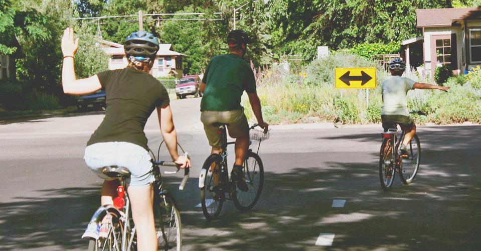Biking in Fort Collins