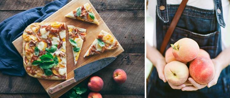 Peach Pizza Recipe