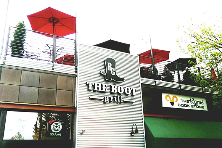 Top Outdoor Patios in Fort Collins   The Boot Grill