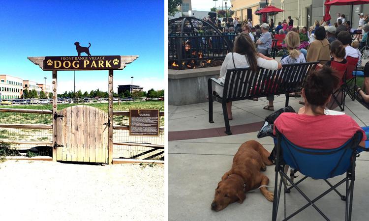 Front Range Village Fort Collins Dog-Friendly