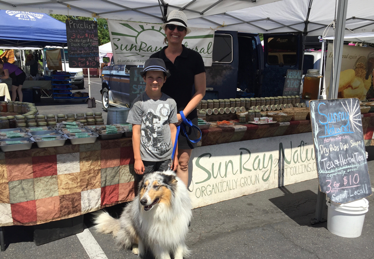 Sunray Natural Fort Collins Farmers Markets