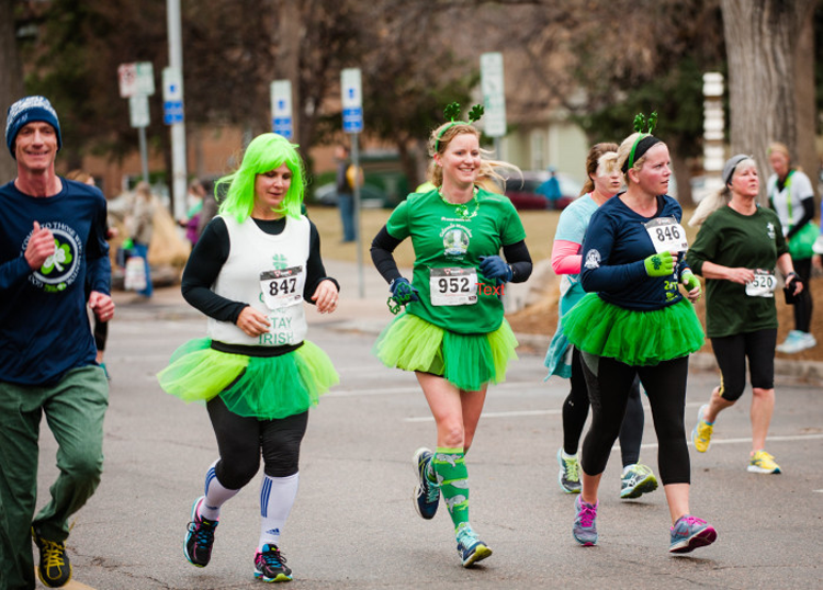 Sharin O the Green Fort Collins 5K St. Patrick's Day events