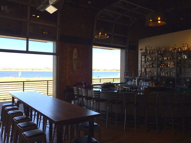 Hearth Restaurant and Pub Windsor Colorado patio restaurant with a view