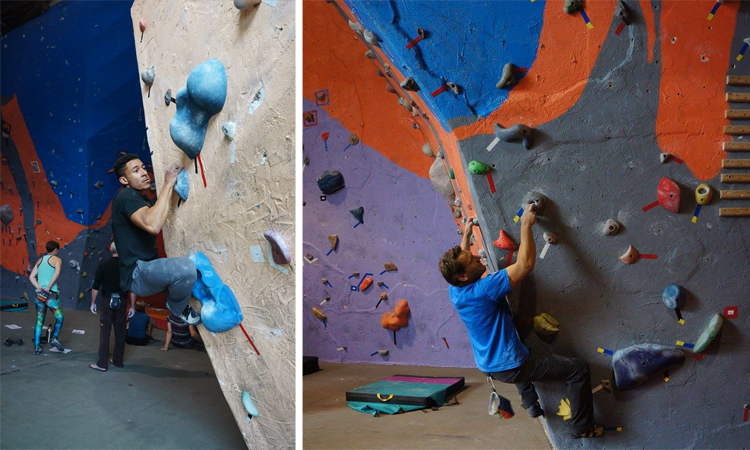Estes Park Mountain Shop rock climbing gym Northern Colorado
