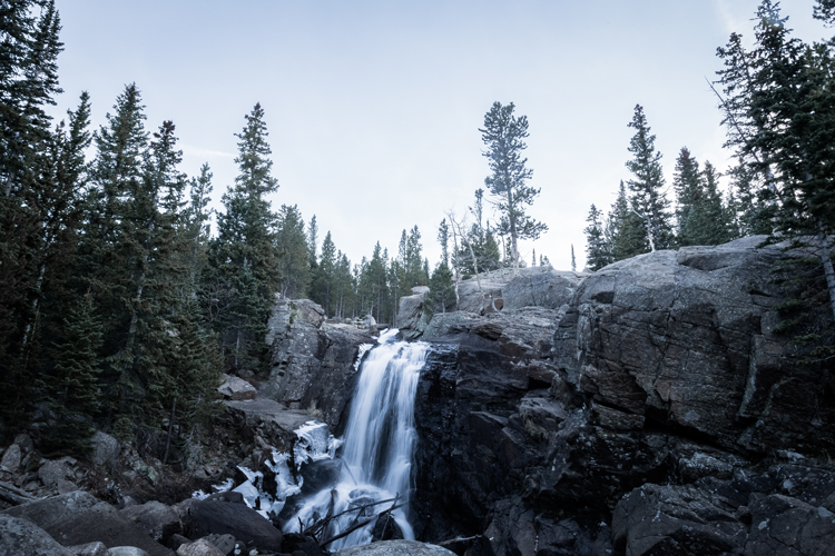 Alberta Falls in Rocky Mountain National Park hike