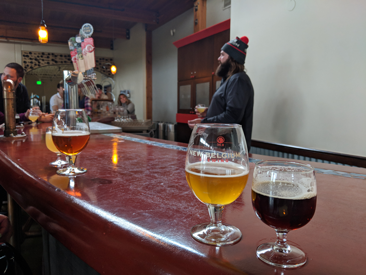 New Belgium Brewery tour date ideas in Fort Collins that aren't dinner