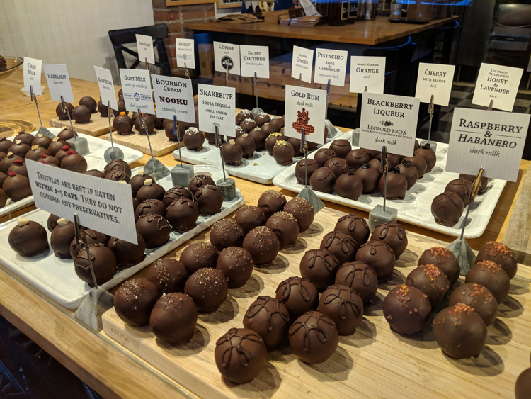 Nuance Chocolate date ideas in Fort Collins that aren't dinner