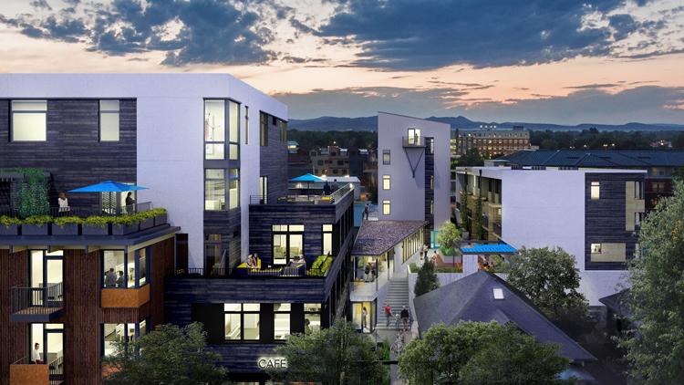 Confluence River District Fort Collins Colorado Condos Apartments