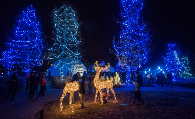 Winter Wonderlights Loveland Colorado things to do during winter