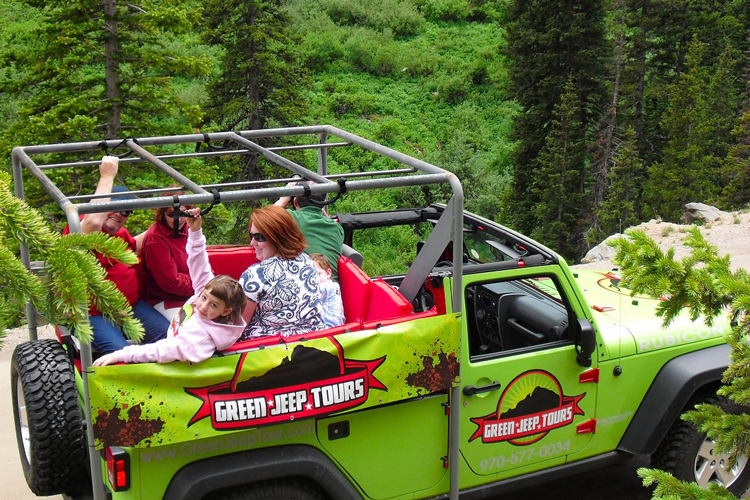 Green Jeep Tours Estes Park things to do