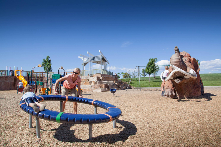 Community parks in Fort Collins Colorado