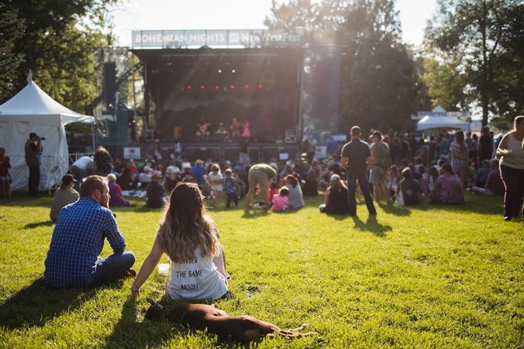 Bohemian Nights at NewWestFest Fort Collins summer festivals 2019