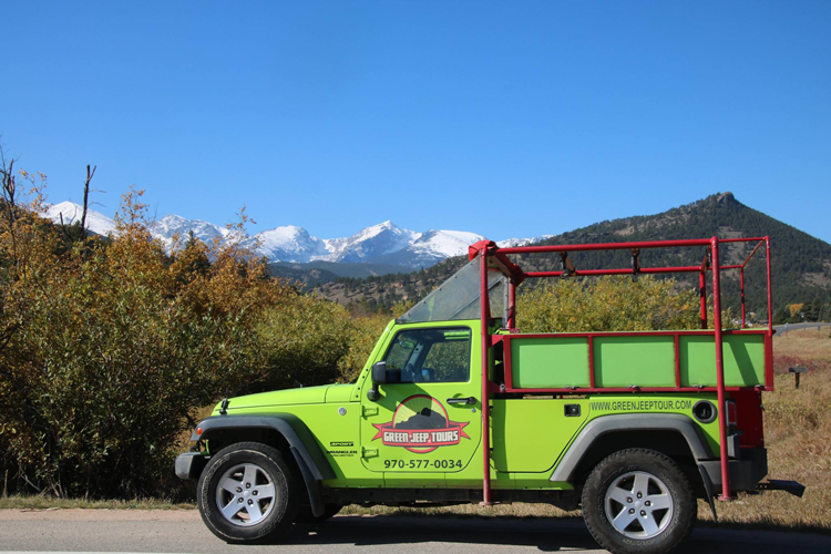 Green Jeep Tours Estes Park guided tours