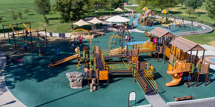 Playground at Island Grove Regional Park