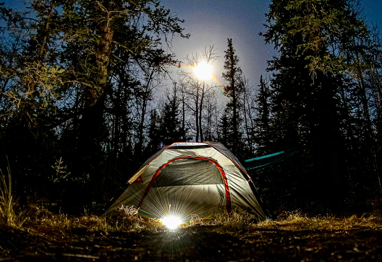 Camping in Rocky Mountain National Park