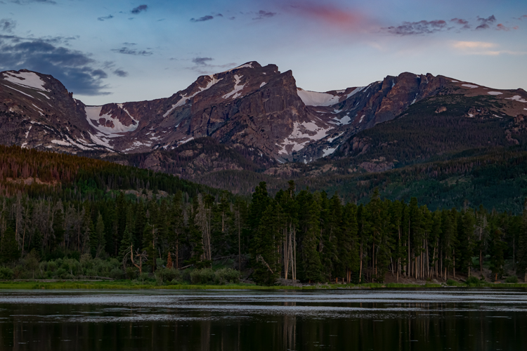 Fishing in Rocky Mountain National Park