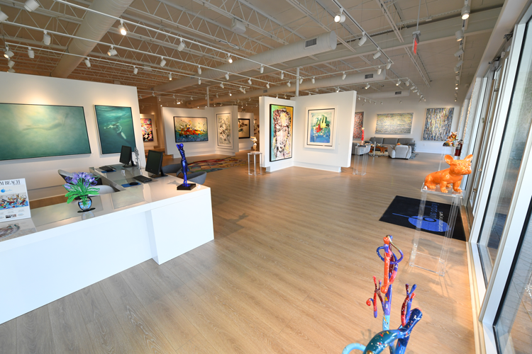 Blue Gallery Fort Lauderdale and Delray Beach