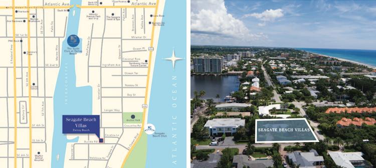 Seagate Beach Villas, Delray Beach Luxury Condominiums