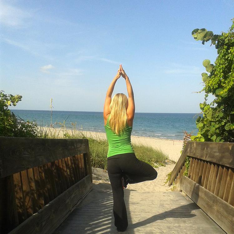 Yoga at the Beach Boca Raton, FL