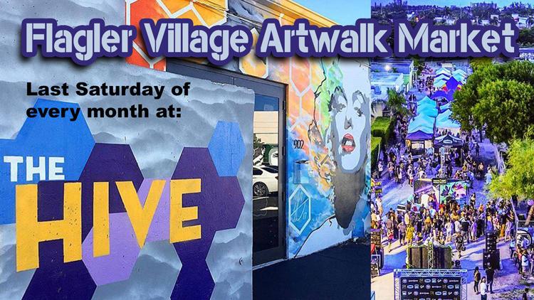 Flagler Village Artwalk Market Fort Lauderdale, FL