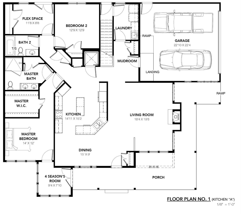 Loon Lane - Floor plan