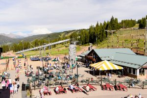 Friday Afternoon Club on Vail Mountain, Colorado.
