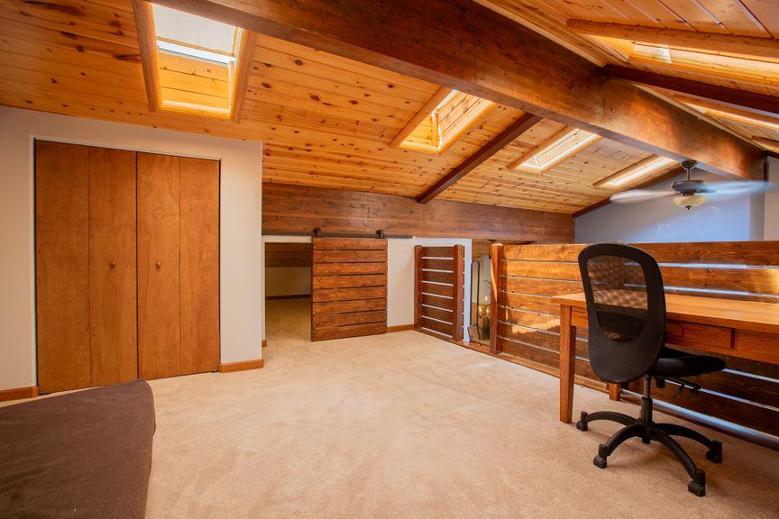 Unique loft-style office in this affordable River Oaks condominium