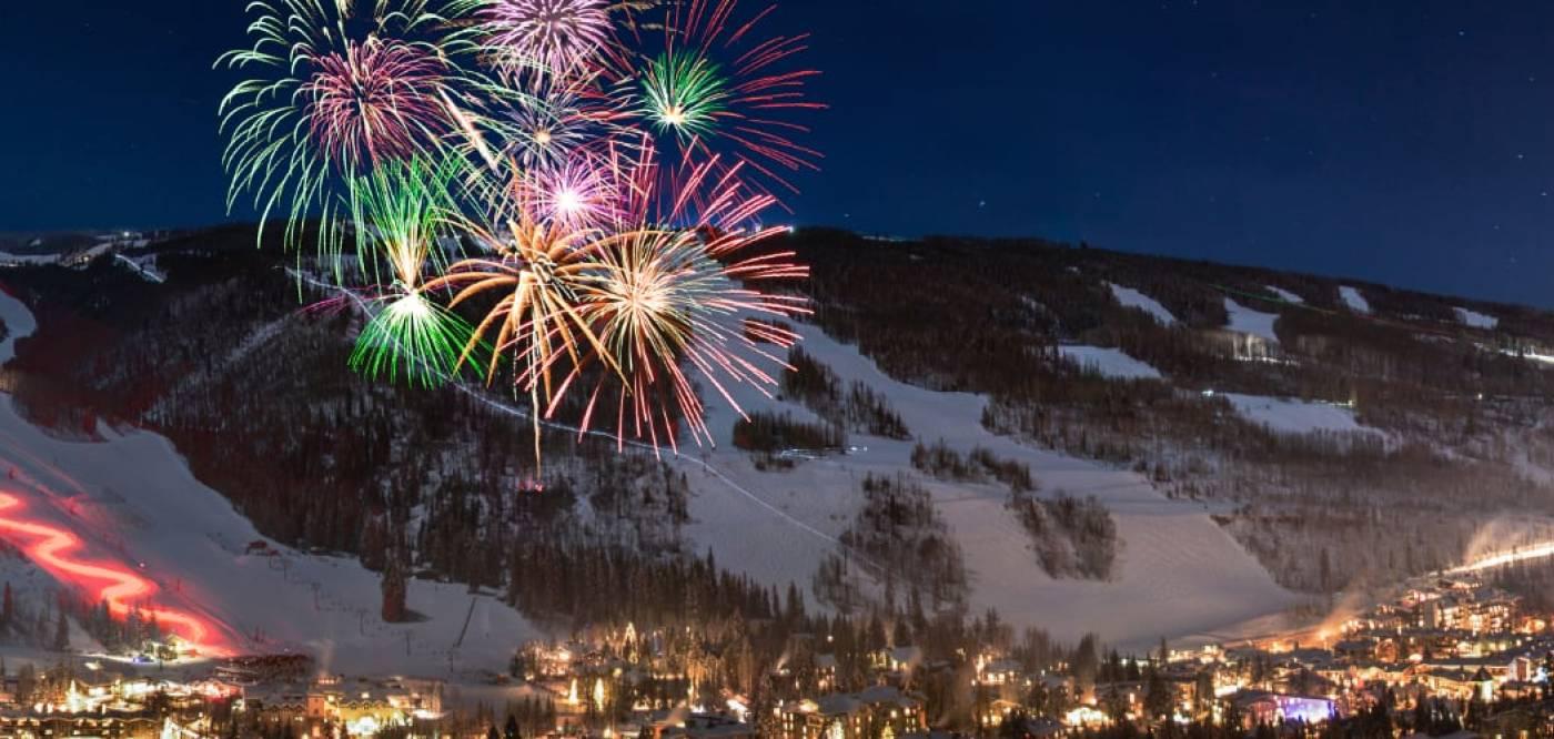 Vail NYE Fireworks