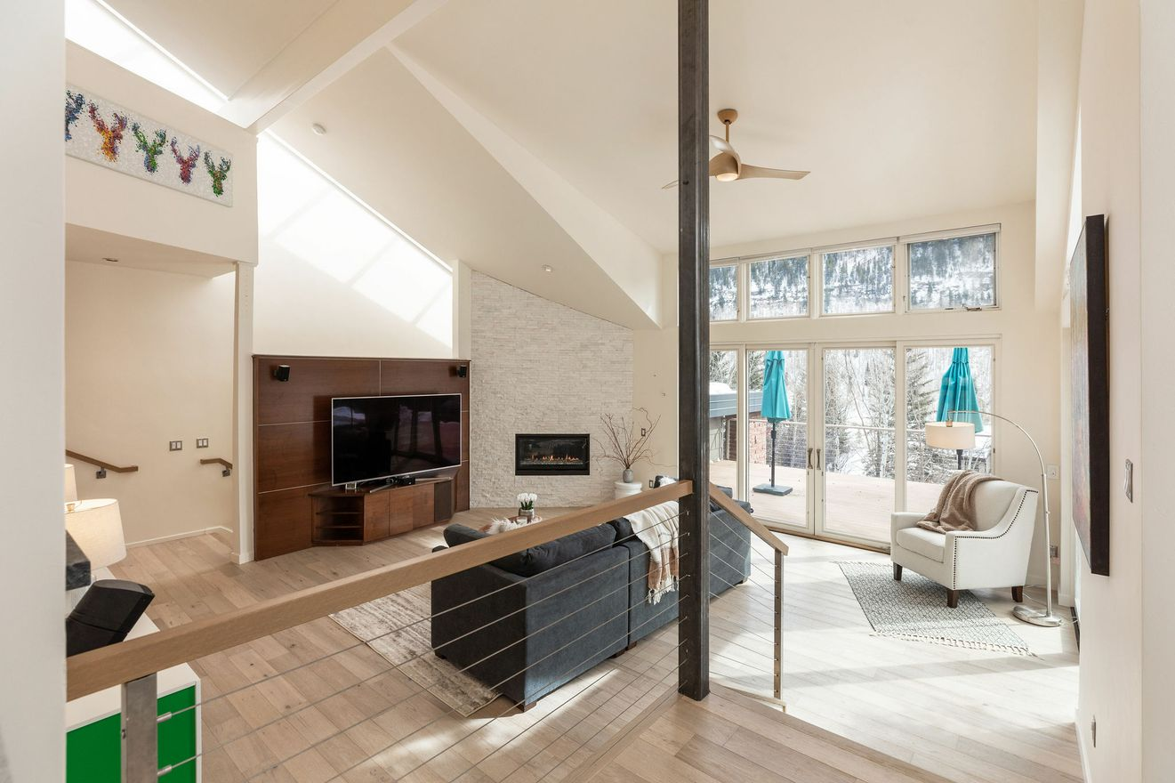Open Luxury Living in this mountain duplex
