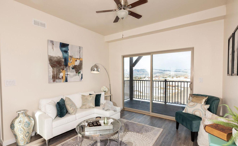 listings under $500,000 - living room shot of affordable gypsum home