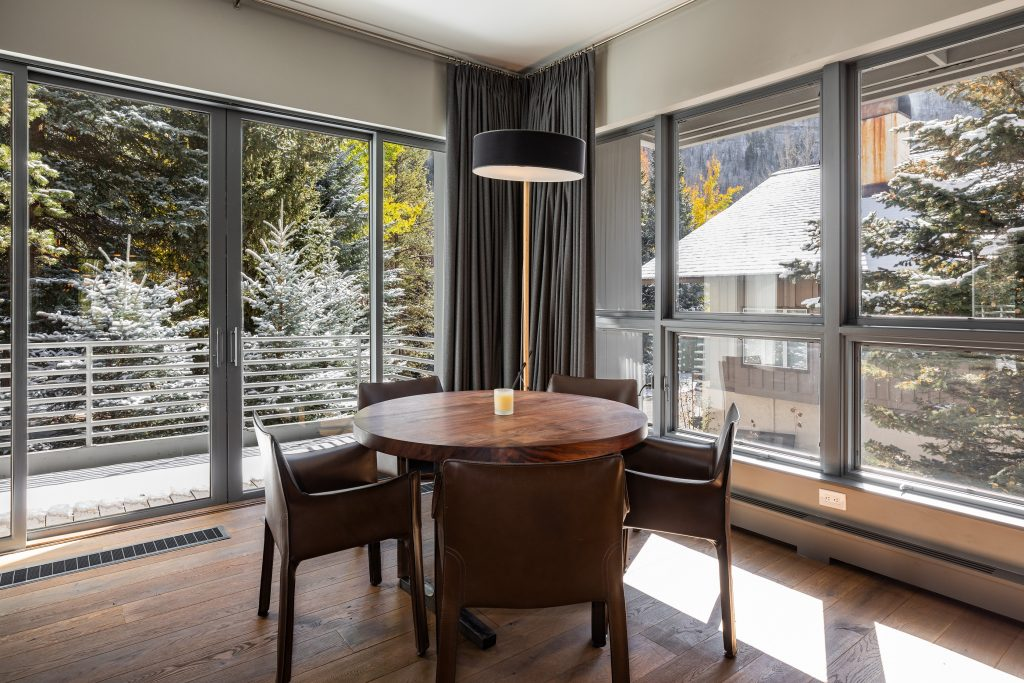 Prepping your home for sale - well lit corner table