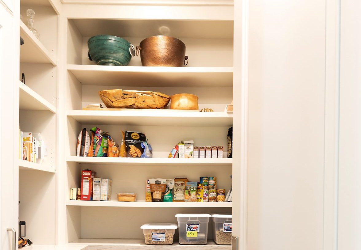 Prepping your home for sale - organized closet