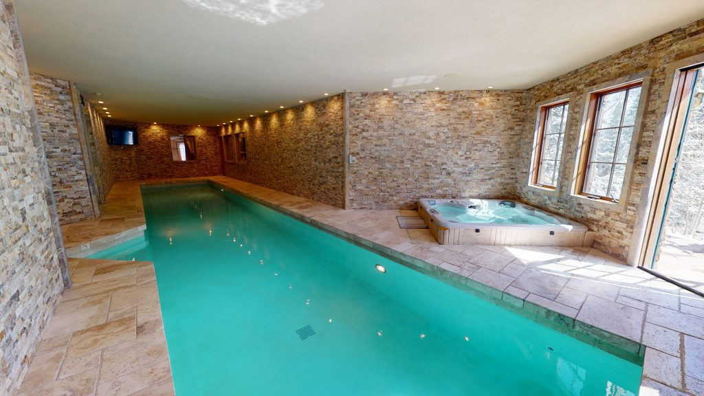 Luxury Lap Pool in Arrowhead Mountain Home