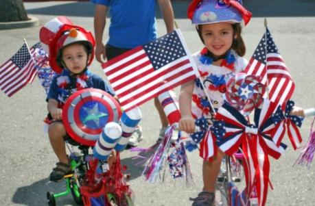 Fourth of July Bike Parade