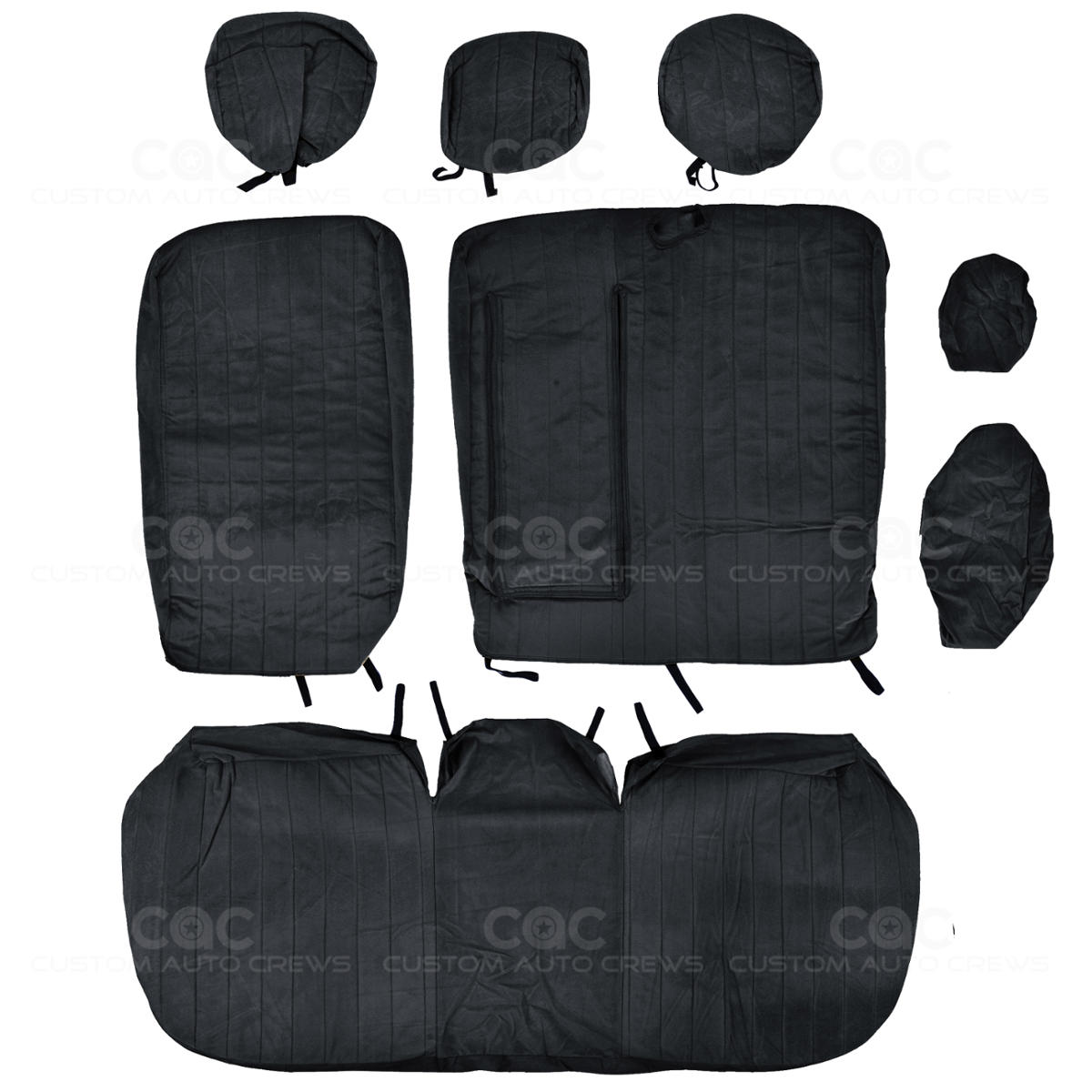 Custom Fit Seat Cover For Honda Civic 2013 To 2015 Velour