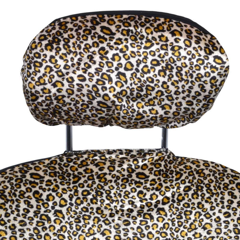 Cheetah Seat Covers Original Beige Split Bench Option Animal Print Ebay
