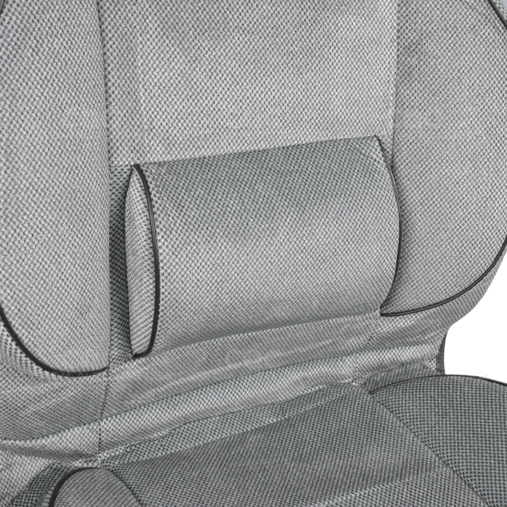 Set Of 2 High Back Car Seat Covers W Built In Lumbar
