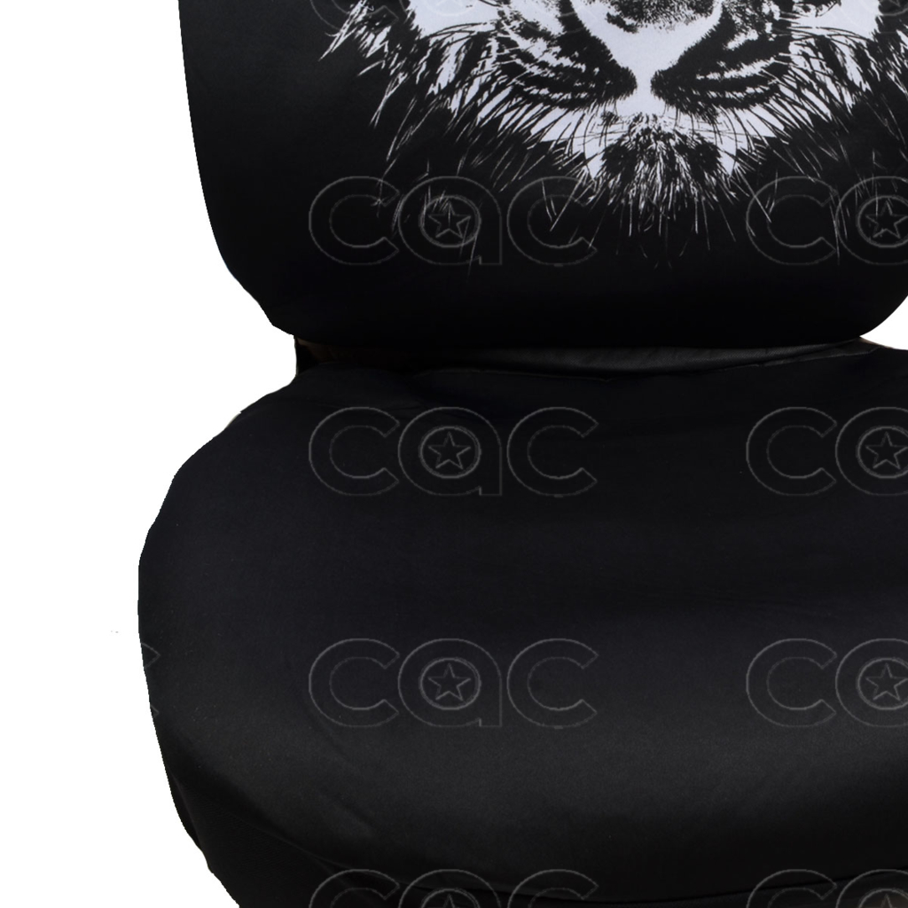 Car Seat Covers Cool Hip Tiger Design Universal Fit Full